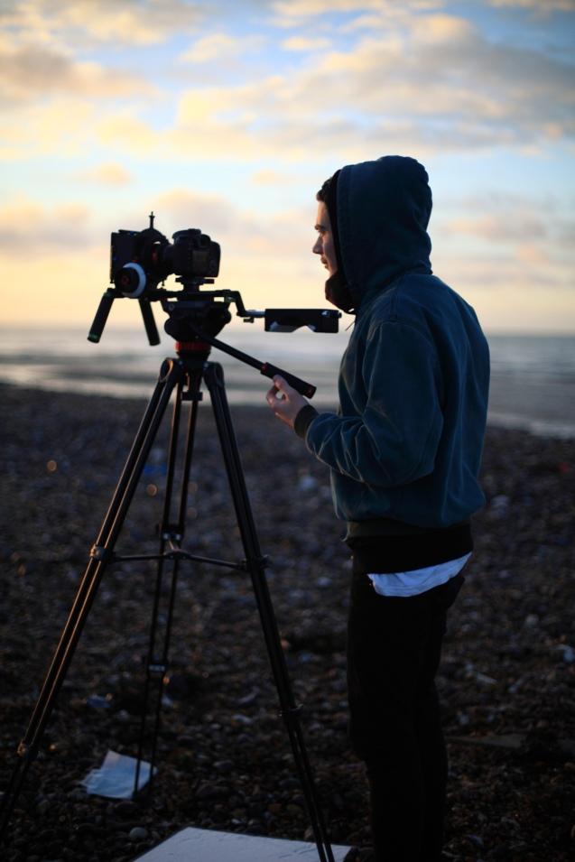 Joey Filming