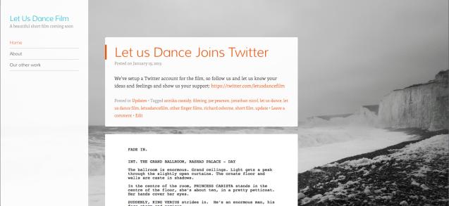 Let us dance blog